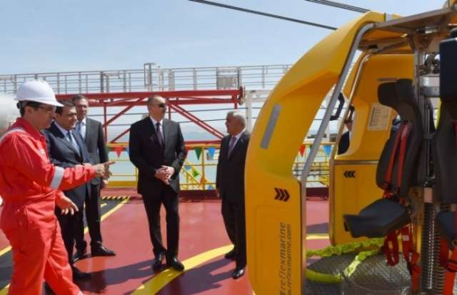 Creation of drilling plant named after Heydar Aliyev is a historical event – Ilham Aliyev