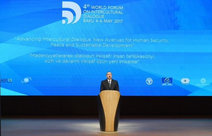 Ilham Aliyev talks transformation of World Forum on Intercultural Dialogue - UPDATED