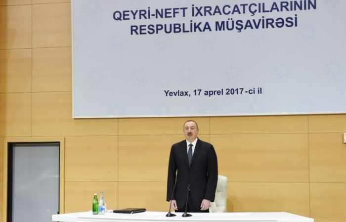 """Made in Azerbaijan"" Marke bereits berühmt in der Welt - Ilham Aliyev"