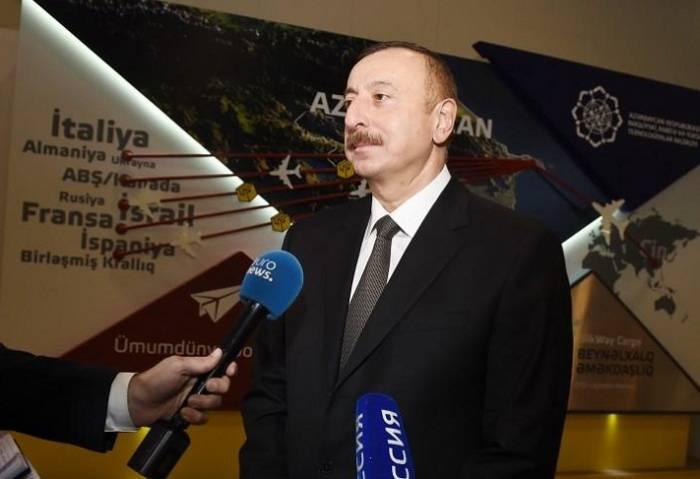 """İlham Əliyev: """"Azərbaycan Rusiya ilə tərəfdaşlığı genişləndirir"""" - (VİDEO)"""