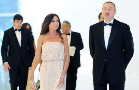 President and his spouse attends solemn ceremony of Heydar Aliyev