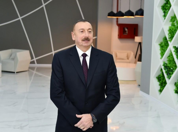 Azerbaijan is successfully completing 2017 - President Aliyev