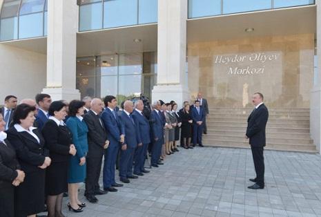 İlham Əliyev: Azərbaycan dünya miqyasında bir mərkəzə çevrilib