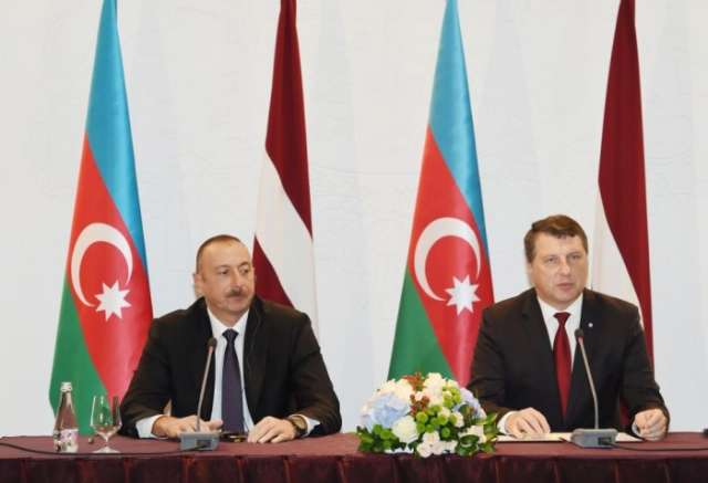 Latvian president names Azerbaijan important partner