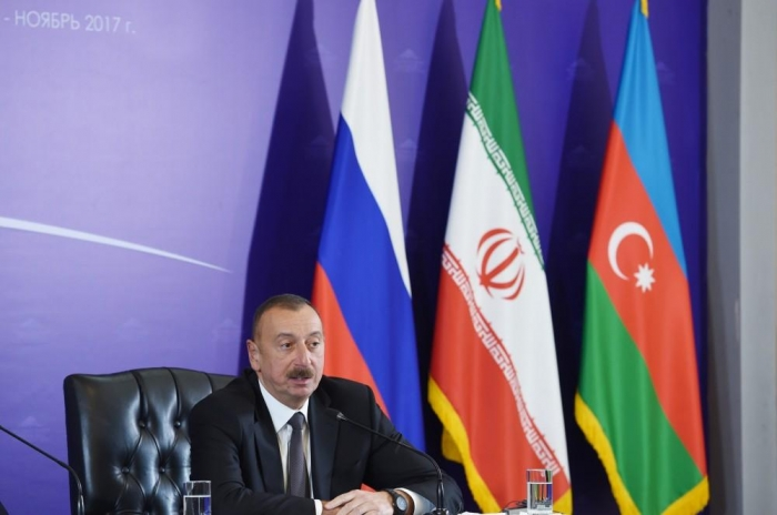 Trilateral cooperation format is of great importance for regional security - Ilham Aliyev