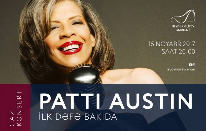 Patti Ostin Bakıda konsert verəcək