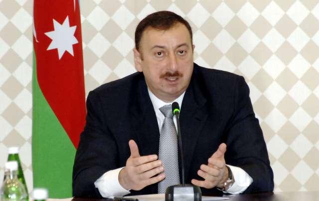 İlham Əliyev sabiq prezidenti qəbul edib