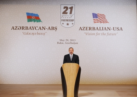 "President Ilham Aliyev attended ""Azerbaijan-US: Vision of the future"" forum"