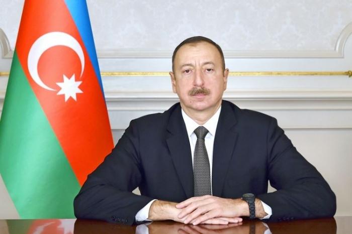 President Ilham Aliyev congratulates Kazakh leader