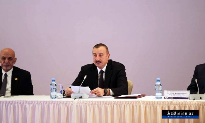 """""""Ermənistan substantiv danışıqların qarşısını alır"""" - İlham Əliyev"""