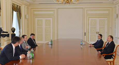 President Ilham Aliyev receives member of UK House of Commons
