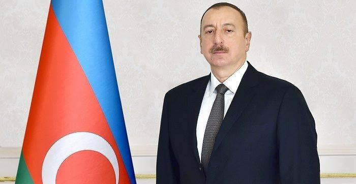 Azerbaijani president inaugurates highway in Guba