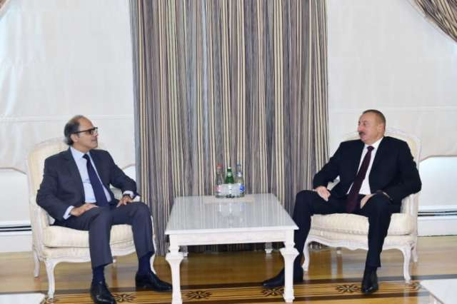 President Aliyev receives director of IMF Middle East, Central Asia Department