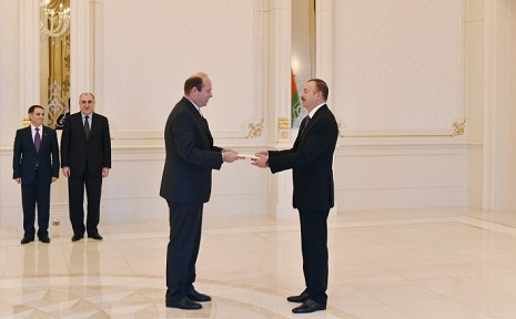 President Aliyev receives newly-appointed Austrian, Afghan ambassadors-PHOTOS
