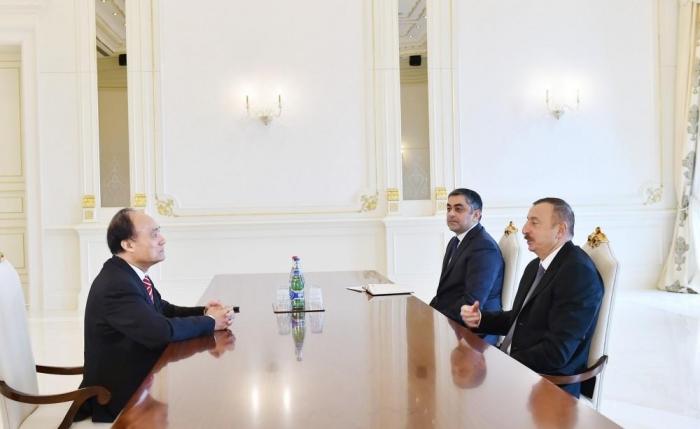 President Aliyev receives ITU Sec.Gen.