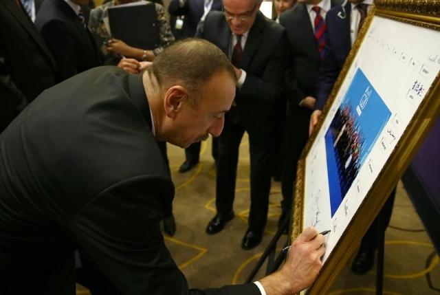 Ilham Aliyev, Poutine et Obama ont mis leurs signatures - PHOTOS