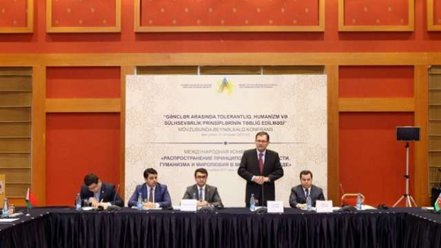 Baku hosts int'l conference on promoting tolerance among youth