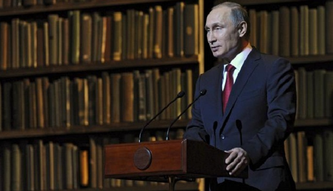 Putin reshuffles Russia`s law enforcement structures