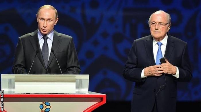 World Cup 2018: Sepp Blatter will accept Vladimir Putin's invitation to Russia