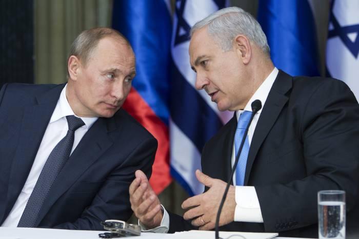 Putinlə Netanyahu arasında telefon danışığı olub