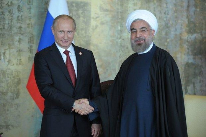 Iranian, Russian leaders discuss trilateral talks with Azerbaijan