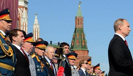 Kremlin says Putin made difficult decision to put off Victory Day parade