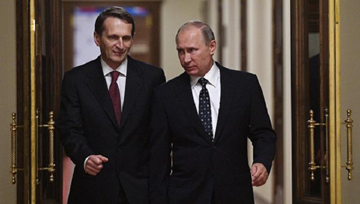 `Narışkin yaxşı kəşfiyyatçıdır` - Putin