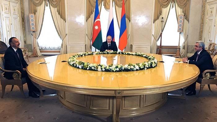 Russland - Hauptorganisator des geplanten Treffens der aserbaidschanischen und armenischen Präsidenten