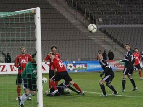 `Qarabağ`ardıcıl üçüncü dəfə xal itirdi