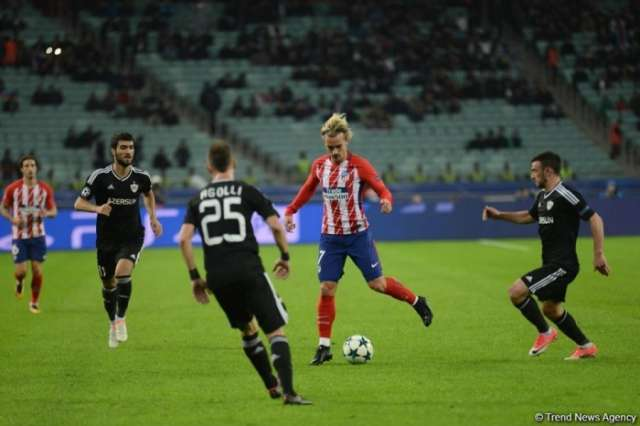 FC Qarabag gets second UEFA Champions League Group point