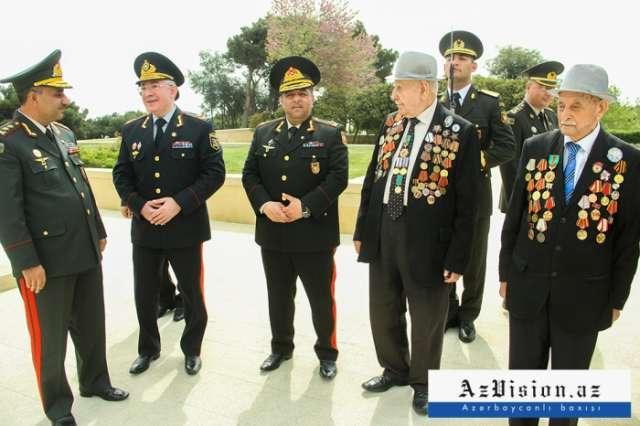 Azerbaijan celebrating Victory Day - PHOTOS