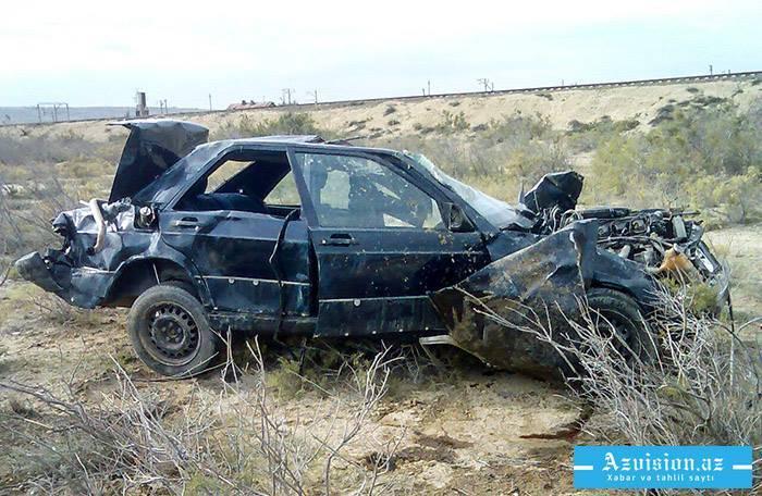 Bayramda yol qəzalarında 3 nəfər ölüb