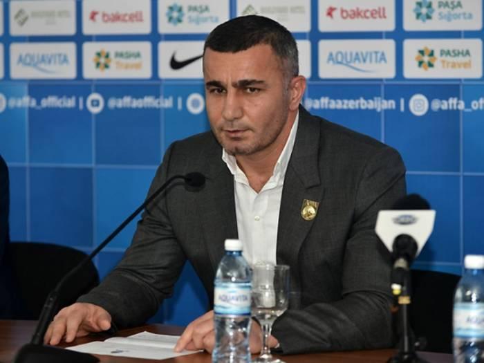 Qurban Qurbanov millinin heyətini açıqladı