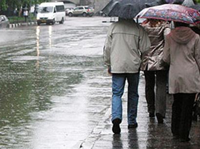Azərbaycanda 3 gün yağış yağacaq