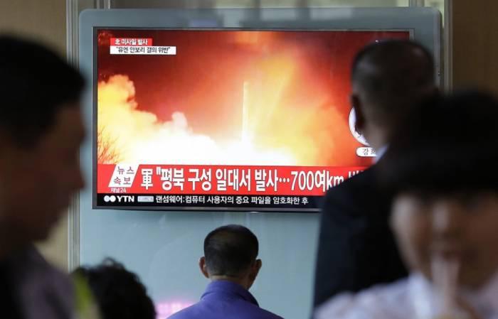 Şimali Koreya daha bir raket buraxıb