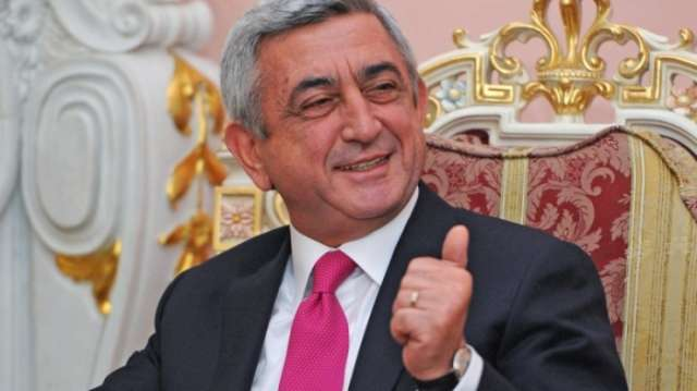 Serzh Sargsyan confirmed as Armenia's new prime minister