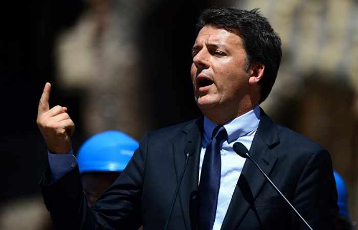 Ex-Italian Prime Minister Renzi Re-Elected as Leader of Ruling Democratic Party