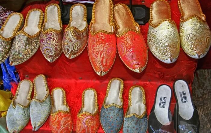 Chaussures traditionnelles d'Azerbaïdjan