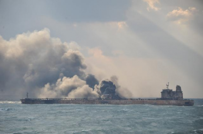 Rescuers resume search for survivors from blazing Iran oil tanker