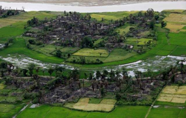 Rohingya insurgents say they have no option but to fight Myanmar