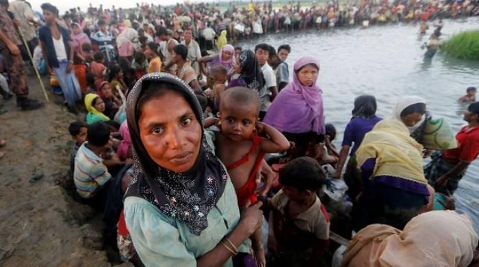 Camp de Rohingyas incendié au Bangladesh