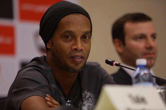 Football legend Ronaldinho: I might play for Qabala FC - PHOTOS