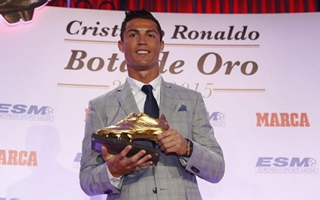 Ronaldo `Qızıl buts` aldı