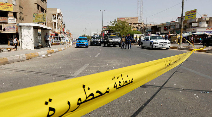 Three rockets reportedly land near Baghdad Airport