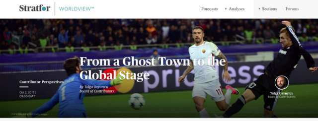 From a ghost town to the global stage