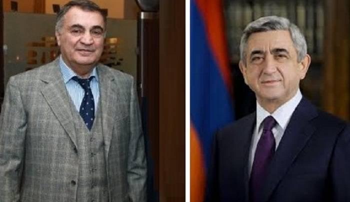 Un homme d'affaires arménien a révélé la fraude de Sarkissian