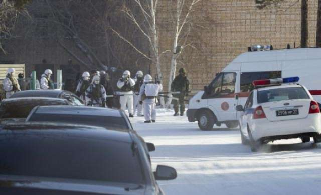 Russian student injures six in an ax attack at his school