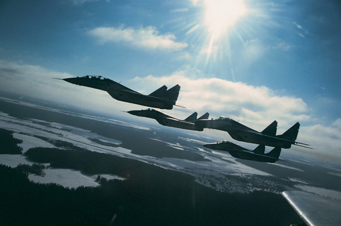 Russian Air Force planes violated Turkey
