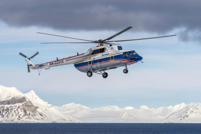 Norway says sunken Russian helicopter wreckage may have been located