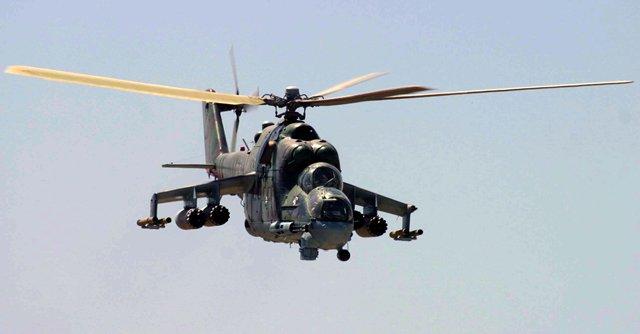 Suriyada Rusiya helikopteri vuruldu